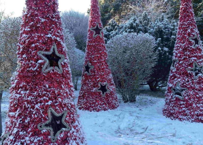 Kalėdinės puošmenos Palangoje