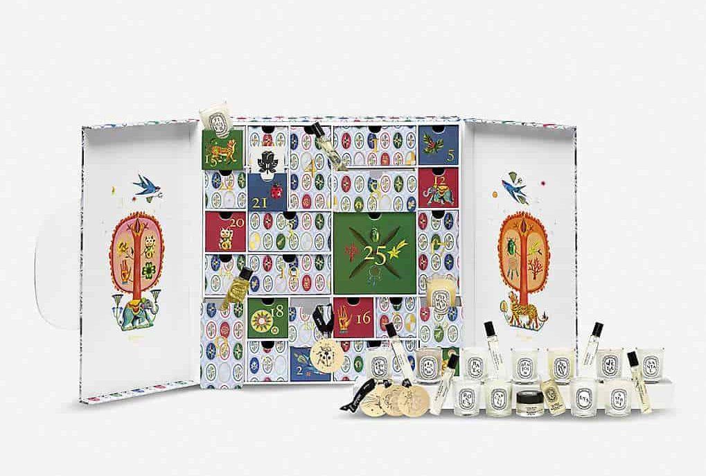 Diptyque grožio advento kalendorius