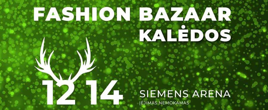 Fashion bazaar Kalėdos Vilnius