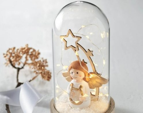 Žana kalėdinės dekoracijos