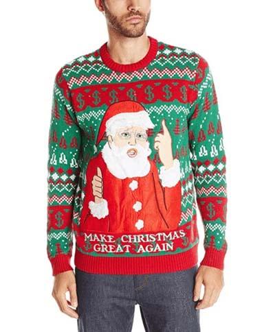 Bjaurus kalėdinis megztinis Aafnation
