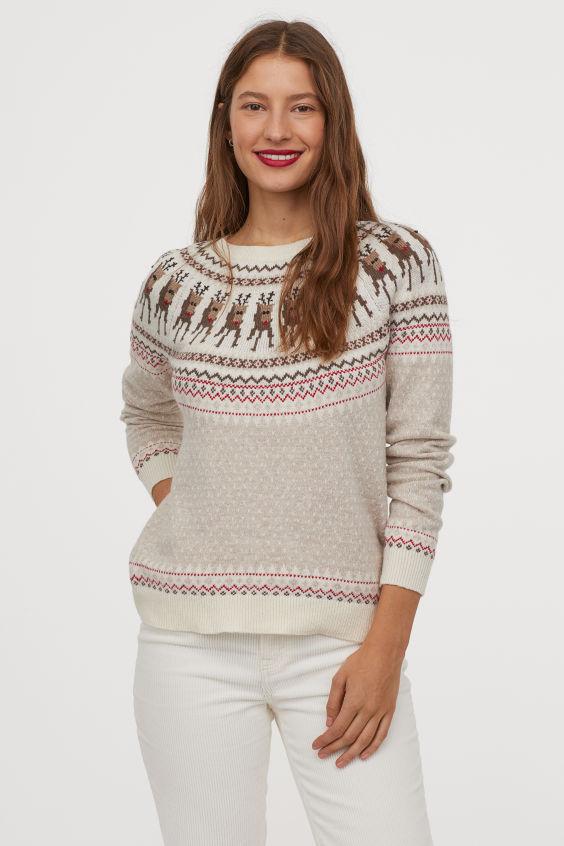 Bjaurus kalėdinis megztinis HM