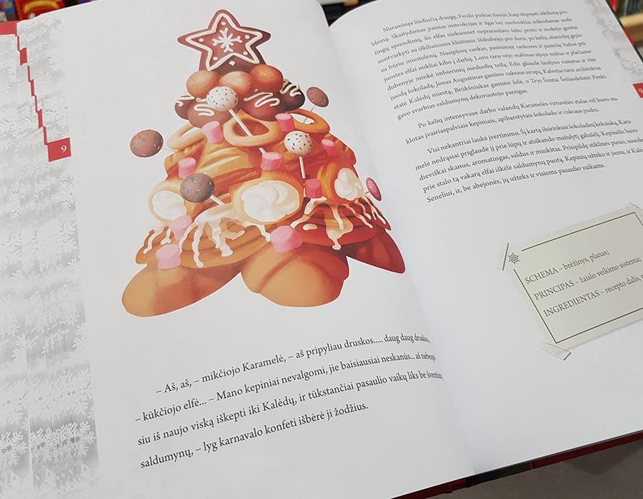 Maketonas kalendorius knyga