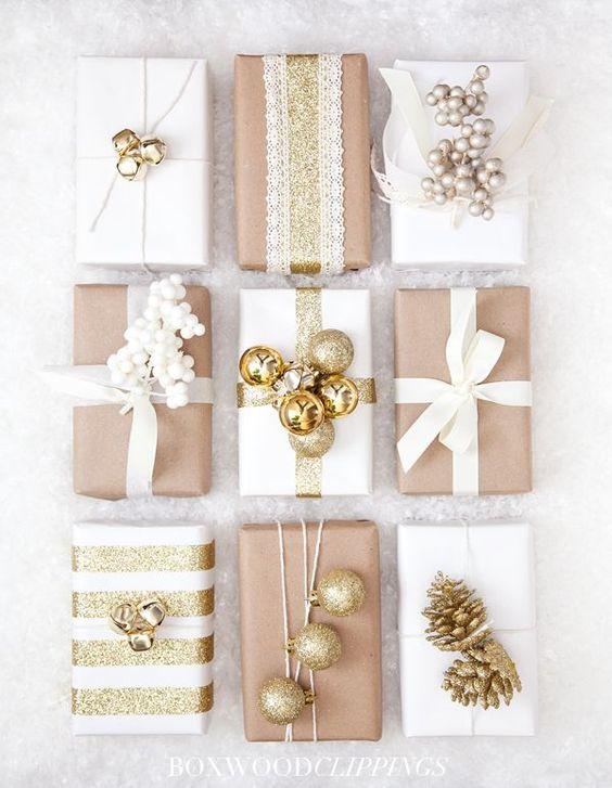 Dovanos kalėdinis dekoravimas