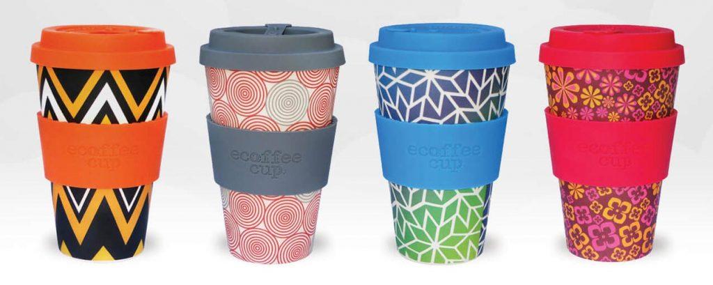 Ecoffee daugkartiniai puodeliai