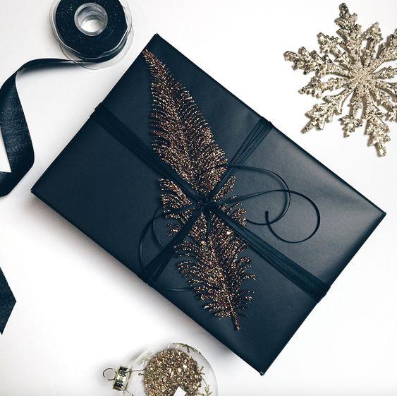 Kalėdinės dovanos papuošimas