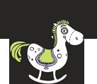 Medinis arkliukas logotipas