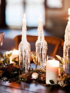 Žvakės butelyje
