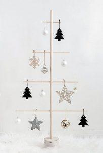 Netradicinė Kalėdų eglutė