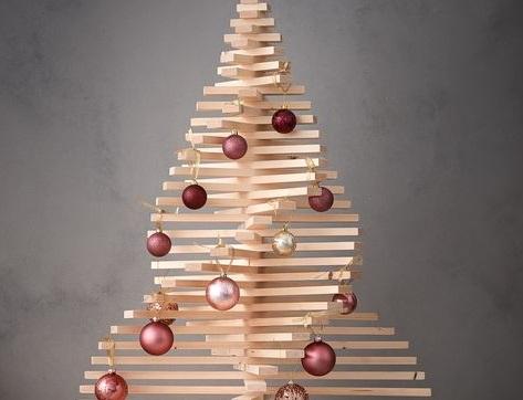 Netradicinė Kalėdų eglė (idėjų galerija)