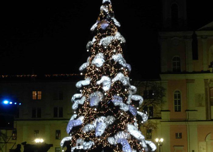 Kalėdinė Kauno eglė 2018