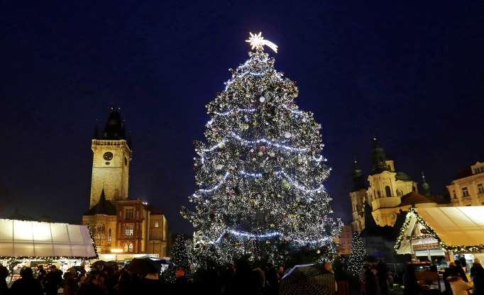pasaulio kalėdų eglutės