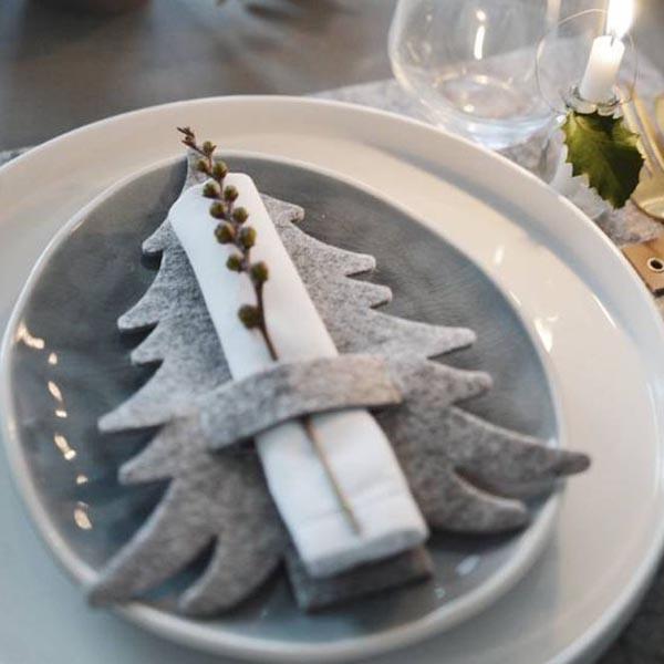 Kalėdinė filco eglutė