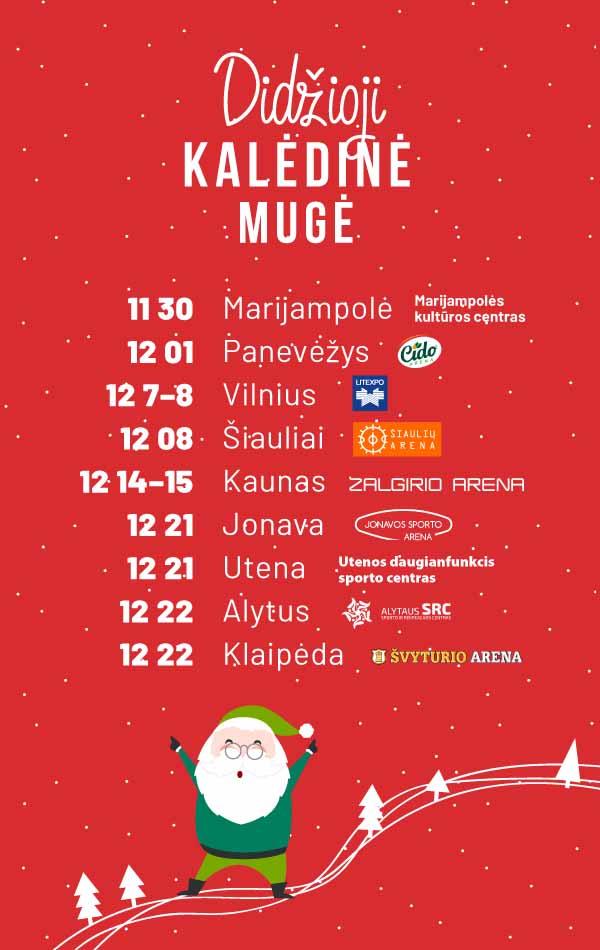 Didžiosios kalėdinės mugės Lietuvoje