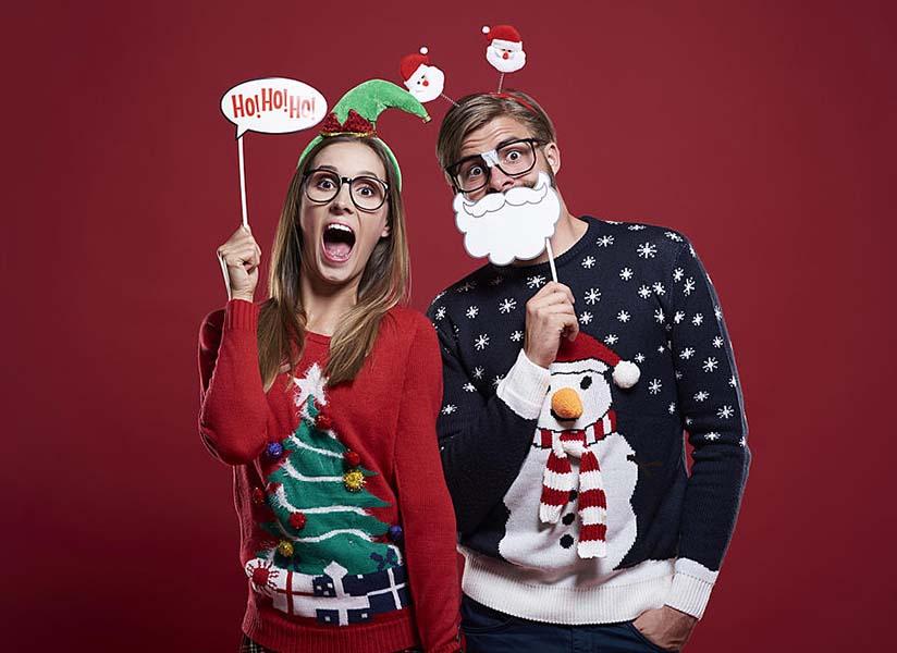 Kalėdinis megztinis: nuo girliandų iki Žvaigždžių karų