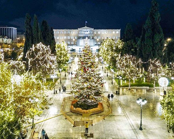 Atėnų Kalėdų eglė