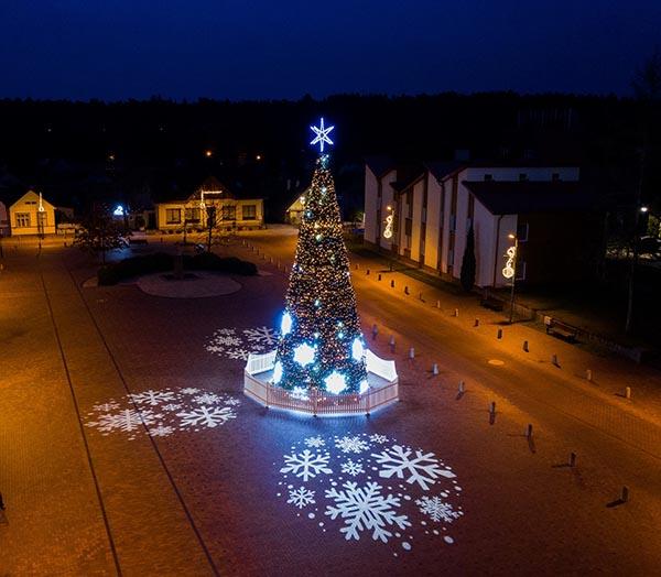 Birštono kalėdų eglutė