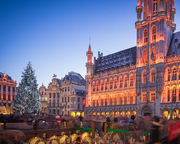 Briuselio kalėdinė eglė