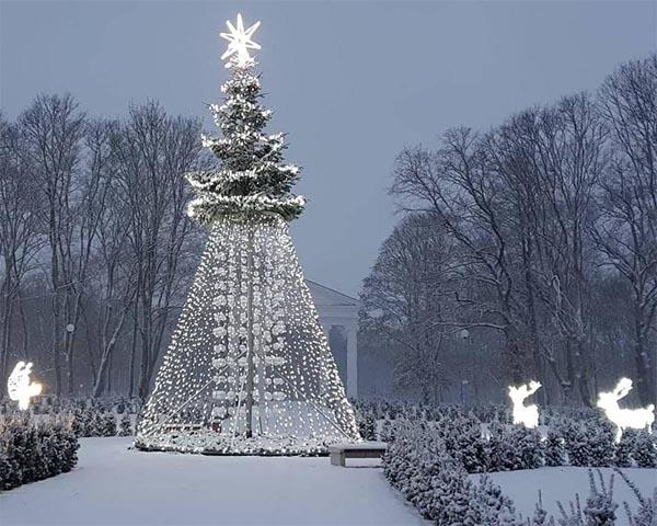 Jurbarko kalėdinė eglė
