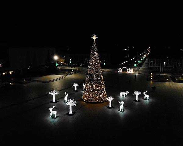 Marijampolės kalėdinė eglė