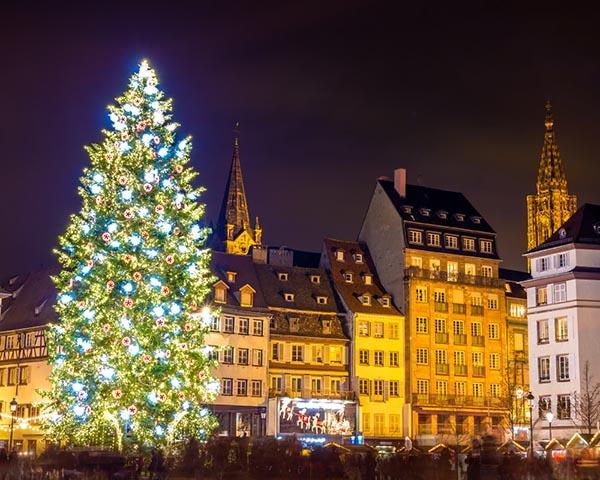 Strasbūro Kalėdų eglė