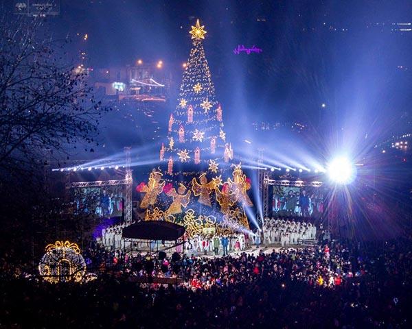 Tbilisio kalėdinė eglė
